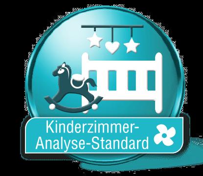 Lufttest Kinderzimmer Standard